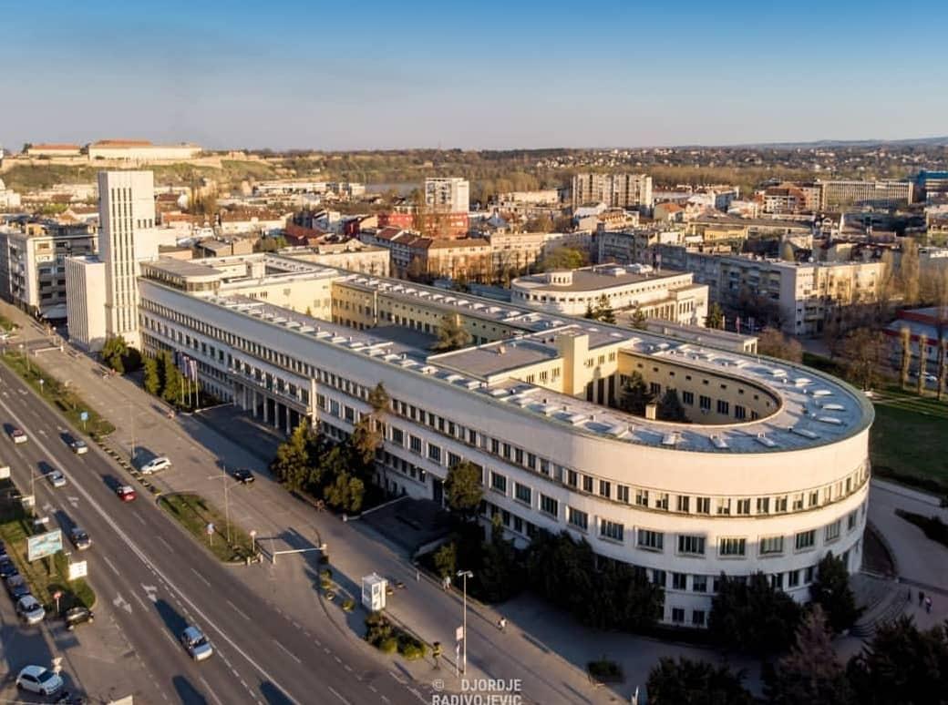 Почели радови на санацији и реконструкцији фасаде зграде Бановине