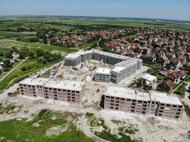 ВЕТЕРНИК: Ускоро завршени радови на изградњи станова за избегла лица