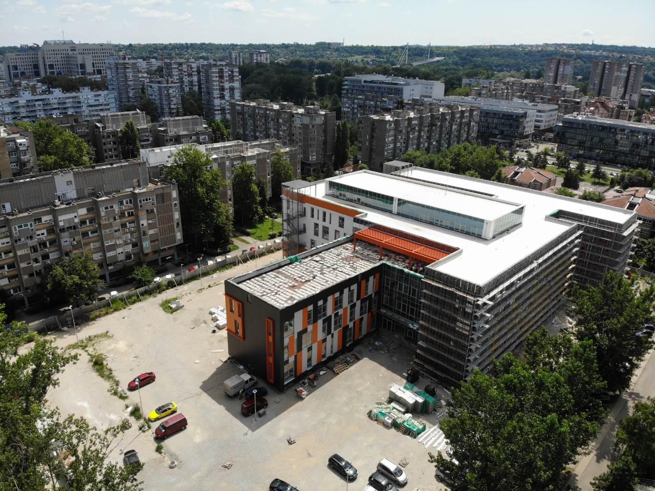 Обишли смо радове на изградњи балетско музичке школе /ФОТО-ДРОН/