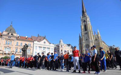 ПРИМОПРЕДАЈА ОПРЕМЕ ДОБРОВОЉНИМ ВАТРОГАСНИМ ДРУШТВИМА СРБИЈЕ НА ТРГУ СЛОБОДЕ